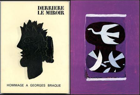Illustrated Book Braque - HOMMAGE À GEORGES BRAQUE. Derrière le miroir N°144-145-146. Mai 1964.