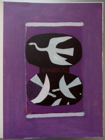 Etching Braque - Hommage à Braque