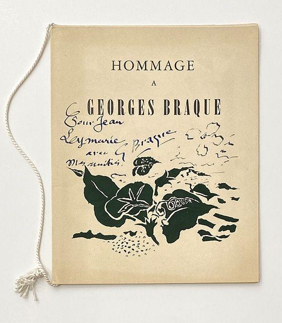 Lithograph Braque - Hommage à Georges Braque