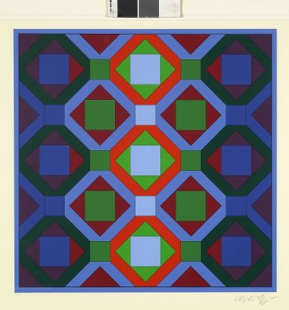 No Technical Vasarely - Hommage à Jean-Sebastien Bach