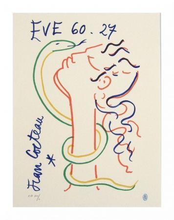 Lithograph Cocteau - Hommage à Jean Cocteau