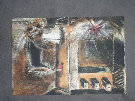 Lithograph Toledo - Hommage à Joan Prats