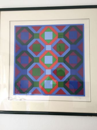 No Technical Vasarely - Hommage à JS Bach