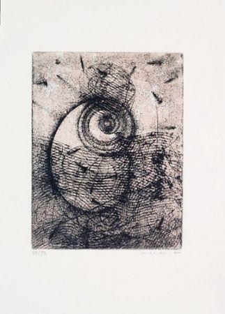 Etching And Aquatint Ernst - Hommage à Rimbaud