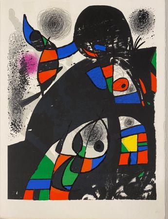 Lithograph Miró - Hommage à San Lazzaro