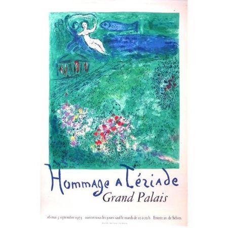 Lithograph Chagall - Hommage à Tériade