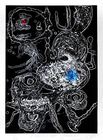 Carborundum Miró - Hommage a Joan Miró, 1973