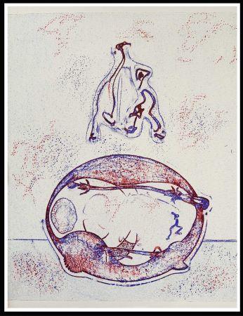 Lithograph Ernst - HOMMAGE A MAX ERNST