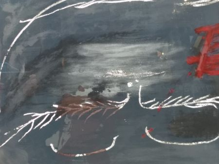 Lithograph Tapies - Hommage a Picasso