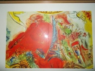 Lithograph Chagall - Hommage a Ravel et Stravinsky