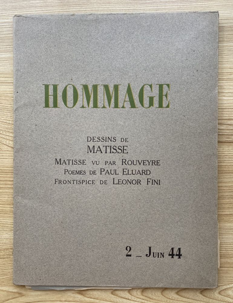 Photography Matisse - Hommage, Dessins de Matisse (