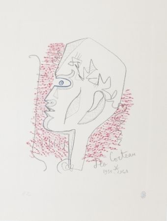 Lithograph Cocteau - Hommage Jean Cocteau 17