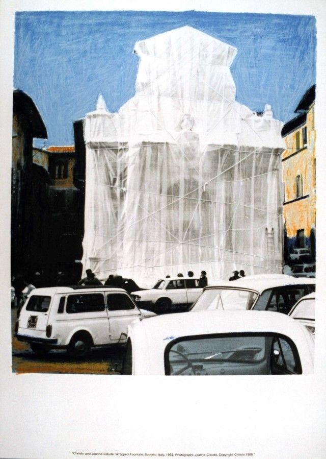 Screenprint Christo & Jeanne-Claude - Hommage to Federico Garcia Lorca - complete set of 50 prints