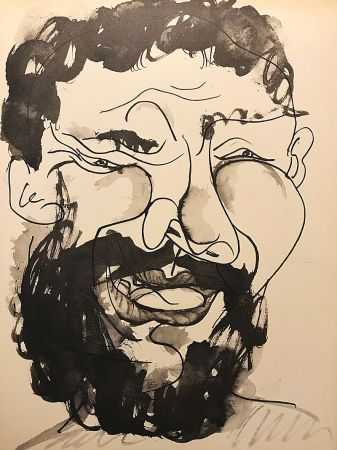 No Technical Picasso (After) - Homme barbu souriant