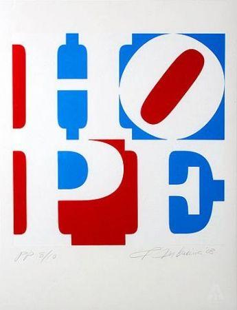 Screenprint Indiana - Hope