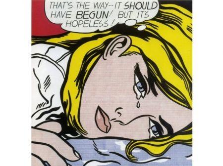Screenprint Lichtenstein - Hopeless