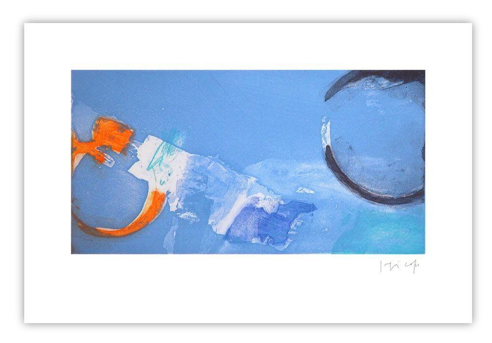 Etching Capa - Horizontal bleu