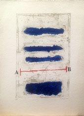 Carborundum Coignard - Horizontales bleues