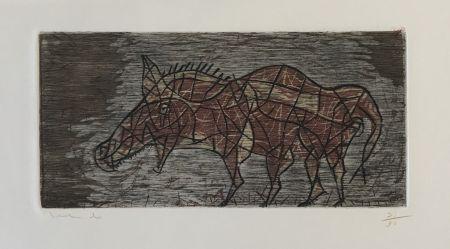 Etching Toledo - Horse
