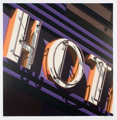 Screenprint Cottingham - Hot