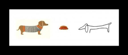 Lithograph Leirner - Hot Dog