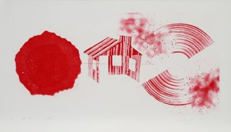 Etching And Aquatint Rosenquist - Hot Lake (2nd State)