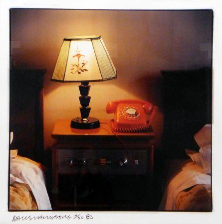 Photography Rauschenberg - Hotel Room