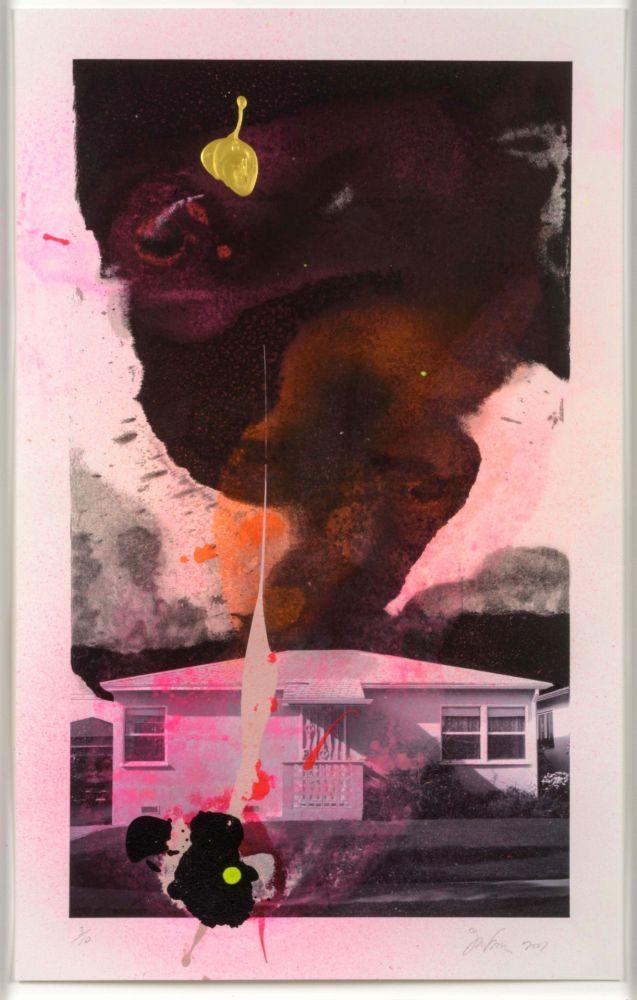 Lithograph Goode - House Tornado (11520)