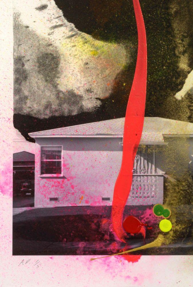 Lithograph Goode - House Tornado (11521)