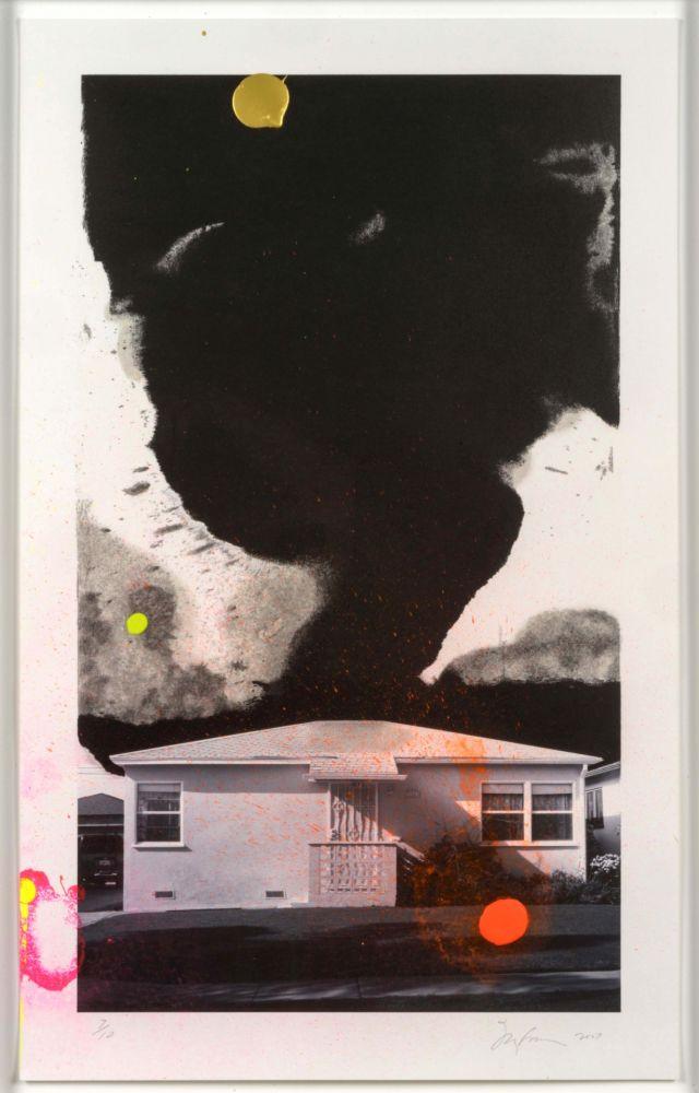 Lithograph Goode - House Tornado (11532)