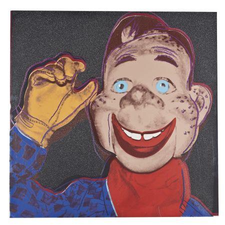 Screenprint Warhol - Howdy Doody (FS II.263)