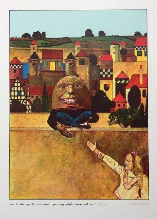 Screenprint Blake - Humpty Dumpty...