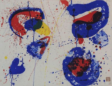 Lithograph Francis - Hurrah for the Red, White and Blue (SF-17)