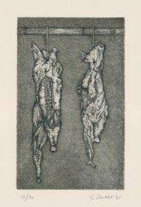 Engraving Bertelli - I canti di Maldoror
