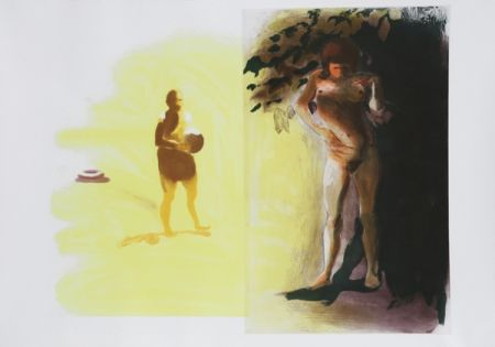 Etching And Aquatint Fischl - I from Beach Scenes Series