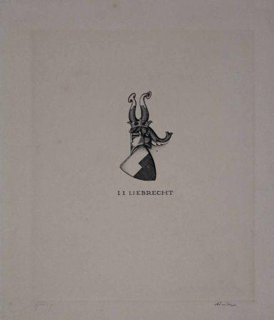 Engraving Friedrich - I. I. Liebrecht