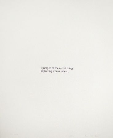 Screenprint Wool - I Jumped A