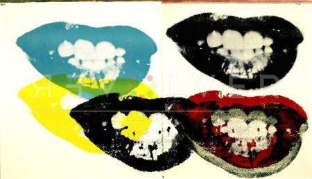 Screenprint Warhol - I Love Your Kiss Forever (FS II.5)