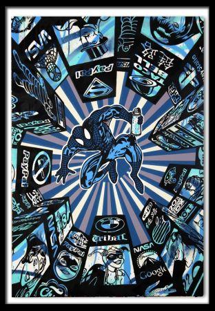 Screenprint Speedy Graphito - I Spray My City (Blue)