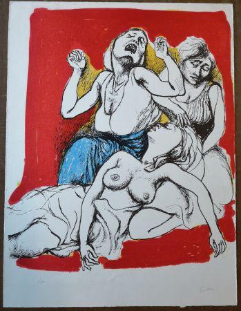 Lithograph Guttuso - I Vespri Siciliani