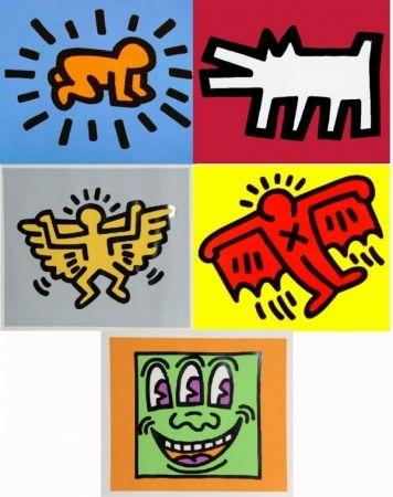 Screenprint Haring - Icons