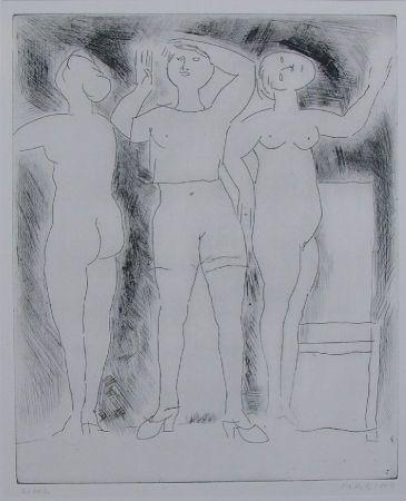 Engraving Marini - Idea della verginità