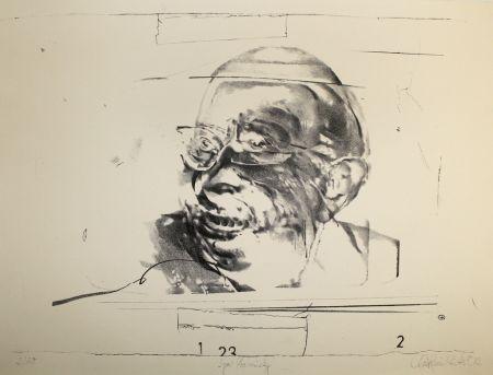 Lithograph Rickert - Igor Strawinsky
