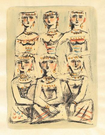 Illustrated Book Campigli - Il Lamento Del Gabelliere (10 Litografie)