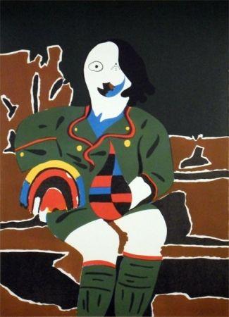 Lithograph Arroyo - Il Pittore di Monaco