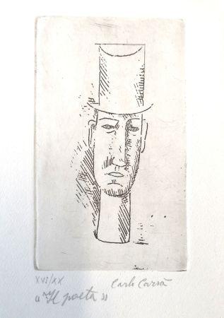 Engraving Carra - Il poeta