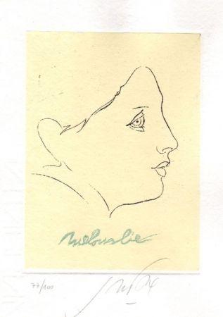 Illustrated Book Guccione - Il principio della malinconia