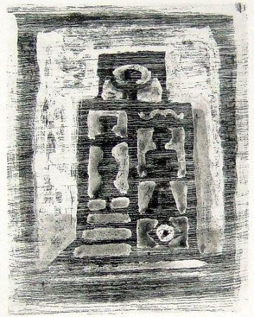Etching And Aquatint Campigli - Il tempio delle donne