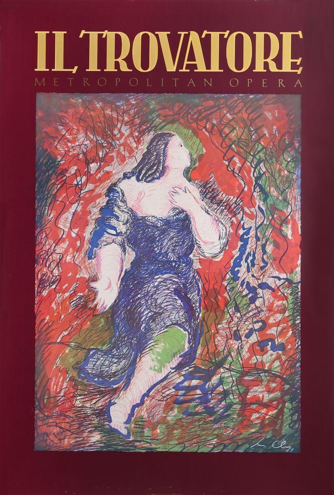 Poster Chia - Il Trovatore (Metropolitan Opera)