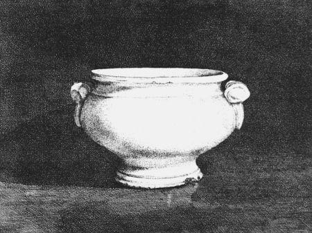 Engraving Cacciarini - Il vaso bianco